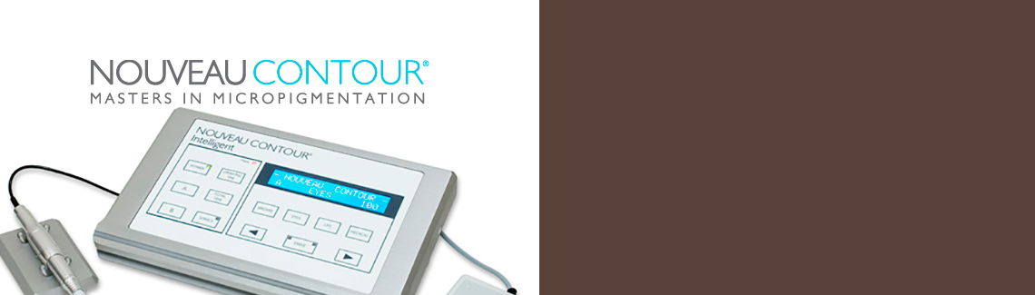 Nouveau Contour equipment has been developed specifically for permanent cosmetics use and is a well balanced, precision art tool.